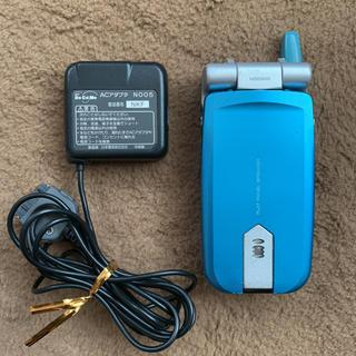 エヌティティドコモ(NTTdocomo)のドコモ ムーバ N506iS ACアダプタ N005(携帯電話本体)