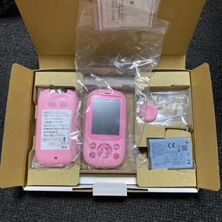 エヌティティドコモ(NTTdocomo)の新品♡キッズケータイ(携帯電話本体)