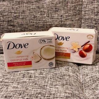 ユニリーバ(Unilever)の日本未発売◯海外限定ダブ ココナッツミルクとシアバターの2個セット Dove(ボディソープ/石鹸)