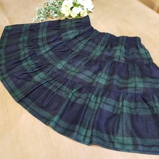 オニール(O'NEILL)のご専用 ティアードウール ミニスカート スカート 定価約2万(ミニスカート)