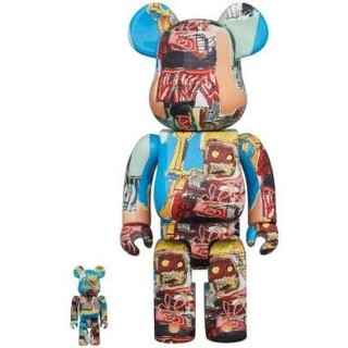 メディコムトイ(MEDICOM TOY)のBE@RBRICK JEAN MICHEL BASQUIAT 100%&400%(その他)