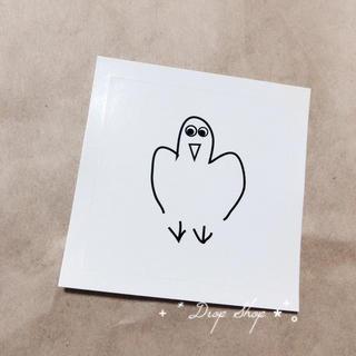 ビームス(BEAMS)の𓊆  平山昌尚 ステッカー A 鳥 𓊇 (シール)