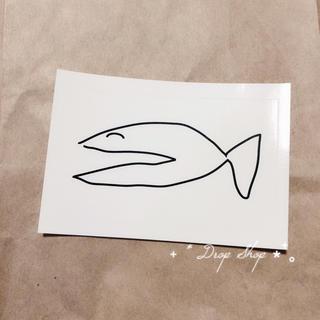 ビームス(BEAMS)の𓊆  平山昌尚 ステッカー N 魚  𓊇 (シール)