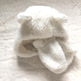 babyGAP - ■ 新品 ギャップ GAP ベビー くまさん帽子 キャップ 手袋