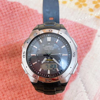 CASIO - CASIO wave ceptor ソーラー電磁波腕時計