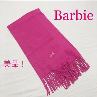 バービー(Barbie)の【美品】Barbie カシミヤ マフラー 華やかさ満点!(マフラー/ショール)