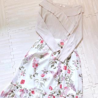 Rirandture - セット♡リランドチュール花柄スカート♡ニット♡M