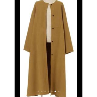 ロンハーマン(Ron Herman)のエブール コート 36 ebure コート ドロワー エンフォルド(ロングコート)