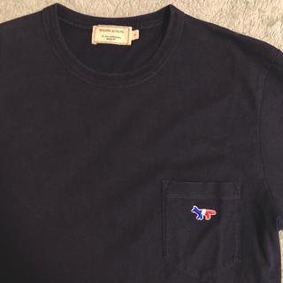 MAISON KITSUNE' - 美品  メゾンキツネ  トリコロールTシャツ