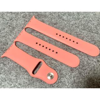 アップルウォッチ(Apple Watch)の【美品】Apple Watch スポーツベルト クレメンタイン 42/44mm(その他)