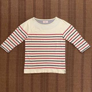 ウィゴー(WEGO)の七分袖 ボーダーシャツ(Tシャツ/カットソー(七分/長袖))