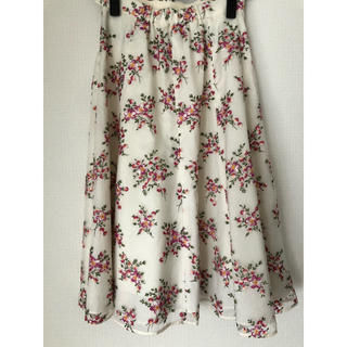 トッカ(TOCCA)のTOCCA刺繍スカート 0(ひざ丈スカート)