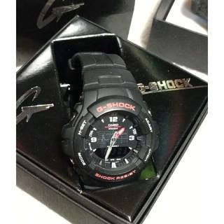 ジーショック(G-SHOCK)のカシオCASIOG-SHOCK G-ショックG-100-1BMJF未使用(腕時計(アナログ))
