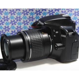 ニコン(Nikon)のBluetooth搭載❤️Nikon D3400❤️フルHD動画❤️超高画質❤(デジタル一眼)