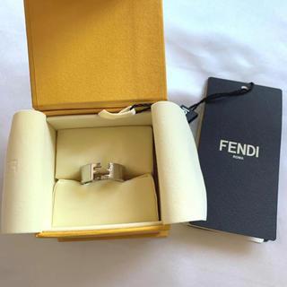 FENDI - 【新品未使用】FENDI フェンディ シルバーリング 指輪