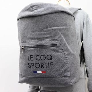 ルコックスポルティフ(le coq sportif)の(新品) le coq sportif フード付き リュックサック バックパック(バッグパック/リュック)