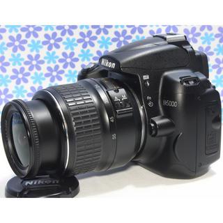 ニコン(Nikon)のおすすめ一眼レフ❤️Nikon D5000❤️動画撮影❤️手振れ補正❤️極美品(デジタル一眼)