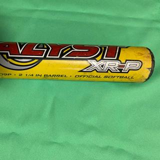 Louisville Slugger - カタリスト  ソフトボール バット 86cm 740g