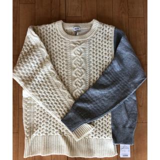シェルターオリジナル(Shel'tter ORIGINAL)の【SHEL'TTER】Layered Cable Knit Tops(ニット/セーター)
