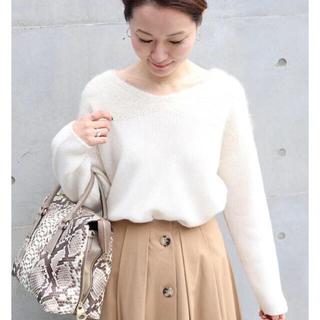 Noble - 美品★NOBLE Suri AlpacaコンVネックプルオーバー