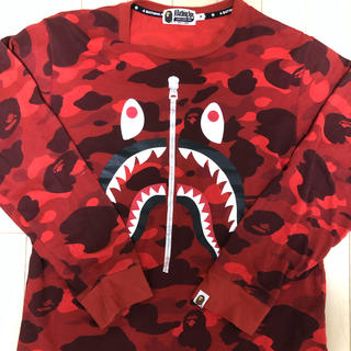 A BATHING APE - A BATHING APE シャーク ロンT