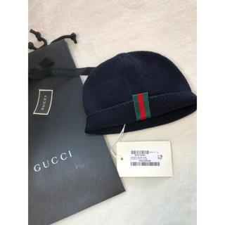 Gucci - グッチGUCCIニット帽子チルドレンLサイズ 50㎝
