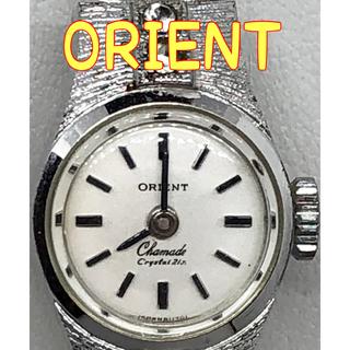 腕時計 Orient オリエント レディース シルバー