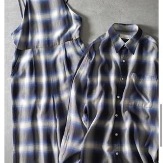 PHEENY - 新品未使用 フィーニー pheeny オンブレチェックシャツ