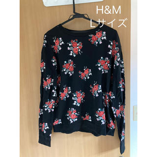 エイチアンドエム(H&M)のH&Mトップス(Tシャツ(長袖/七分))