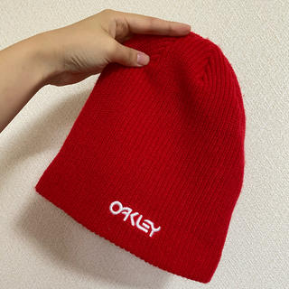 オークリー(Oakley)のoakley ニット帽[最終値下げ](ニット帽/ビーニー)