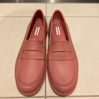 ハンター(HUNTER)のHUNTER ハンター 長靴 ローファー PALE ROSE (レインブーツ/長靴)