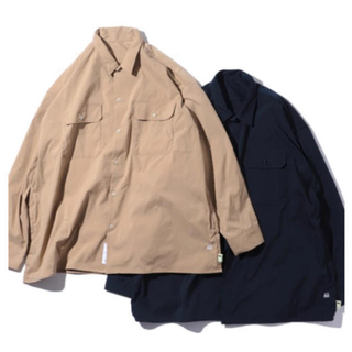 BEAMS - SSZ A.H AH WORK SHIRT ベージュ ワークシャツ