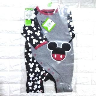 Disney - 【新品】Disney 長袖プレオール(ミッキー)
