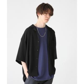 ハレ(HARE)のHARE サテンオープンネックシャツ カイキンシャツ(シャツ)