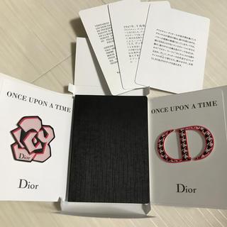 ディオール(Dior)のディオール Dior ノート メモ帳 手帳 ステッカー シール 未使用 ロゴ(ノート/メモ帳/ふせん)