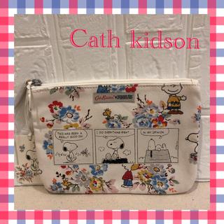 キャスキッドソン(Cath Kidston)の【新品】キャスキッドソン×SNOOPY ポーチ(ポーチ)