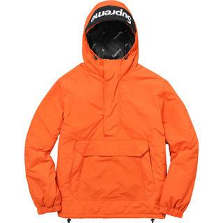Supreme - Supreme Hooded Logo Half Zip Pullover L