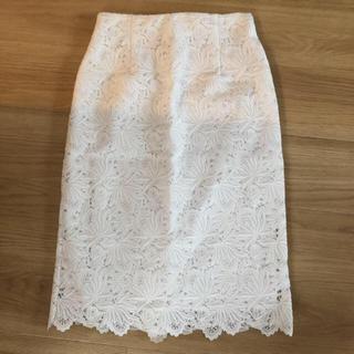 エストネーション(ESTNATION)のエストネーション  レースタイトスカート (ひざ丈スカート)