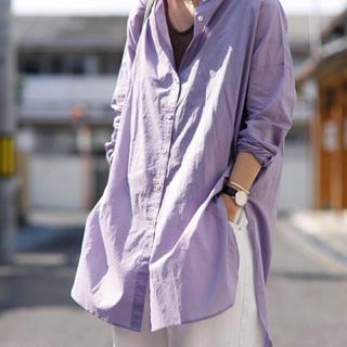 アンティカ(antiqua)のアンティカオーバーサイズシャツ(シャツ/ブラウス(長袖/七分))