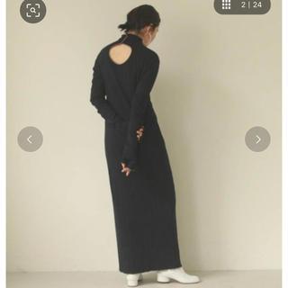 TODAYFUL - パイピングリブドレス