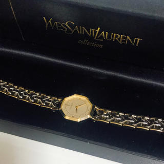Saint Laurent - YVES SAINT LAURENT 時計 コンビカラー YSL