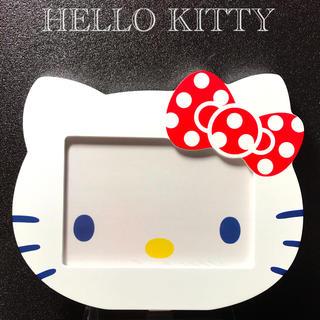 ハローキティ - ハローキティ 木製フォトフレームスタンド    Hello Kitty サンリオ