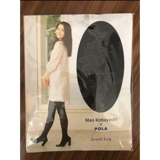 ポーラ(POLA)のブラック デザイン タイツ(タイツ/ストッキング)