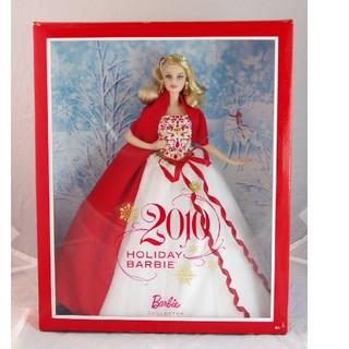 バービー(Barbie)のホリデーバービー2010(ぬいぐるみ/人形)