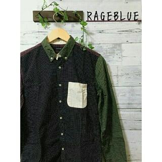 RAGEBLUE - RAGEBLUE  ドット柄シャツ