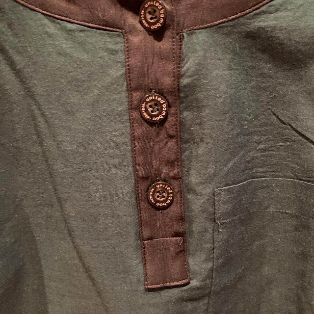 Adam et Rope'(アダムエロぺ)のユナイテッドバンブー ブラウス レディースのトップス(シャツ/ブラウス(半袖/袖なし))の商品写真