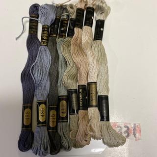 オリンパス(OLYMPUS)のオリムパス刺繍糸 331(生地/糸)
