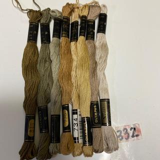 オリンパス(OLYMPUS)のオリムパス刺繍糸332(生地/糸)