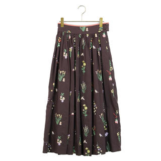 franche lippee - <新品タグ付き>franche lippee ちくちくガーデニングロングスカート