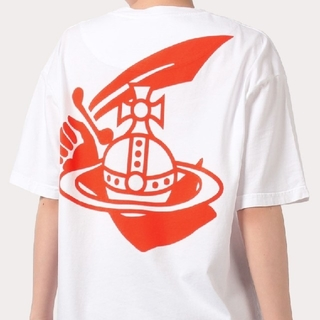 Vivienne Westwood - 新品・NEW BOXY T-SHIRT TIME TO ACT White S